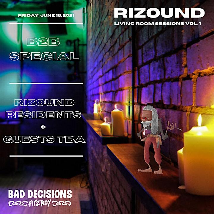Rizound : Living Room Sessions Vol.1 image