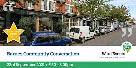 Barnes Virtual Community Conversation tickets