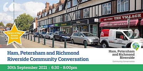 Ham, Petersham and Richmond Riverside Virtual Community Conversation tickets
