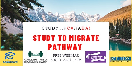Study to Immigrate Pathway with MITT and Sask Polytech! tickets