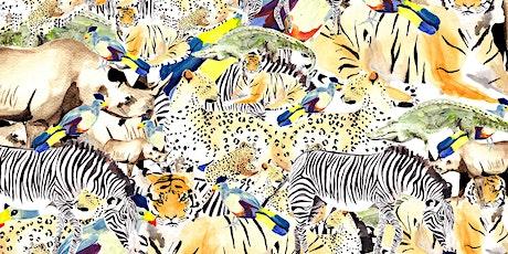 Watercolour Safari  (online class) tickets