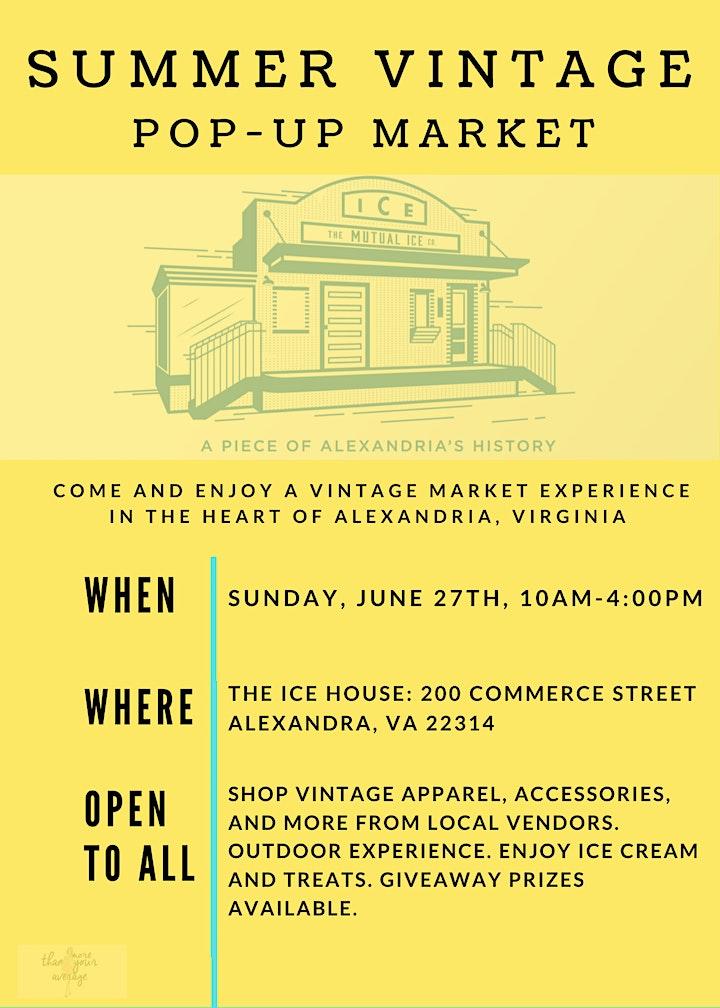 Summer Vintage Pop-Up Market image
