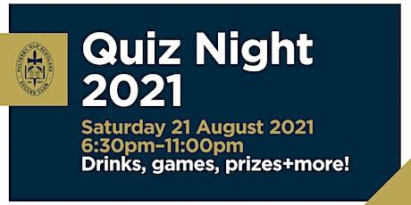 POSSC 2021 Quiz Night! tickets