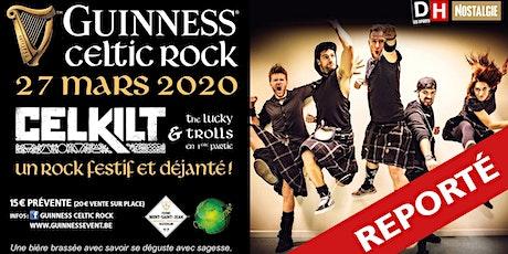 Guinness Celtic Rock - Reporté billets