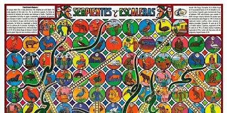 Juegos tradicionales mexicanos:Serpientes y escaleras entradas