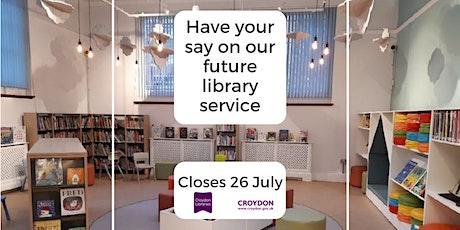 Libraries Consultation Webinar tickets