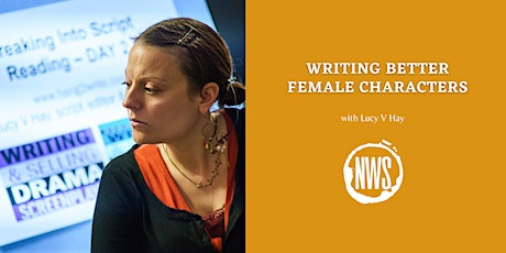 Writing Better Female Characters tickets