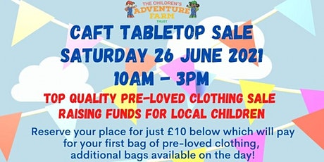 CAFT Tabletop Sale tickets