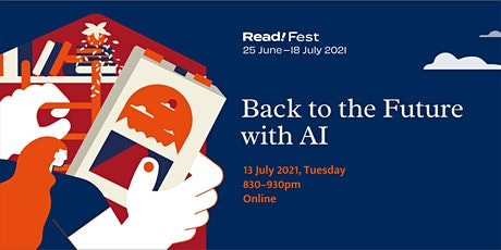 Back to the Future with AI   Read! Fest tickets