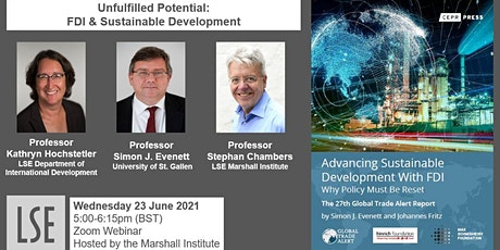 Unfulfilled Potential: FDI & Sustainable Development tickets