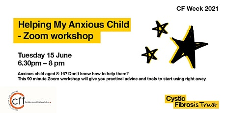 Helping My Anxious Child – Zoom Workshop tickets