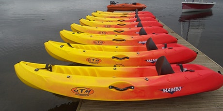 Sit on top Kayak singles and doubles - July 2021 tickets