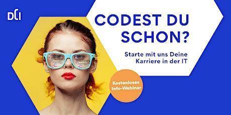 Codest du schon? Infoevent zu IT-Weiterbildungen in Norddeutschland Tickets