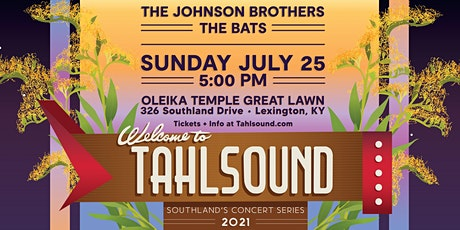 Tahlsound Concert Series | Johnson Brothers & The Bats tickets