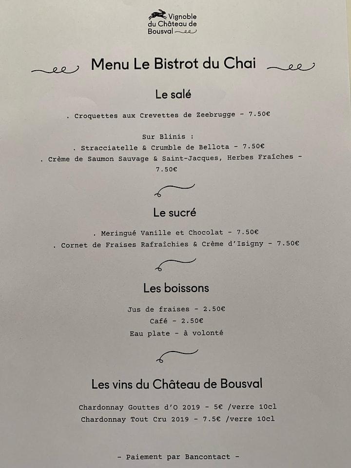 Image pour Le Bistrot du Chai du Vignoble  du Château de Bousval