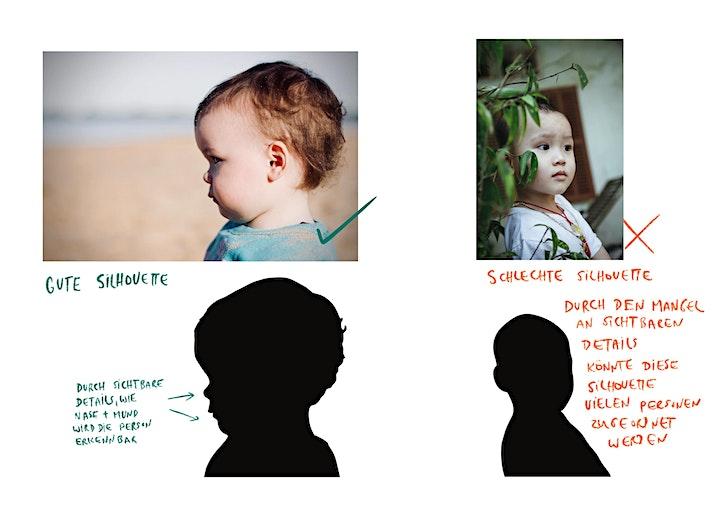 Aquarellkurs Silhouettenportrait - Onlinekurs - Kreativ zu Hause: Bild