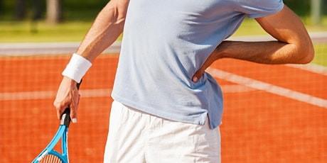 Low Back and Hip Health for Tennis Players tickets