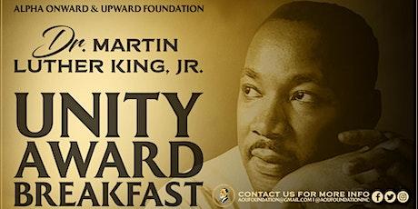 Dr. MLK, Jr. Unity Award Breakfast tickets