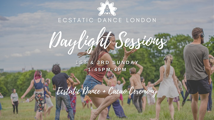 DAYLIGHT SESSIONS with Ecstatic Dance London - Outdoor Silent Disco & Cacao image