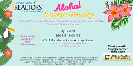 Networking - Luau Party tickets