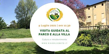 Visita guidata a Parco e Villa Da Peraga biglietti