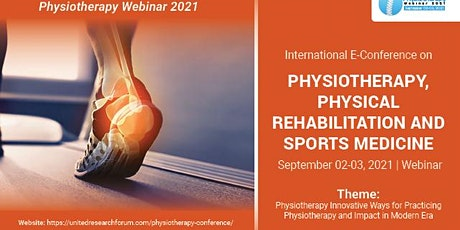 E-Conference on Physiotherapy, Physical Rehabilitation and Sports Medicine entradas