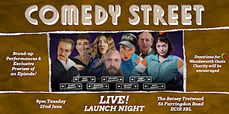 Comedy Street Live! Launch Night tickets