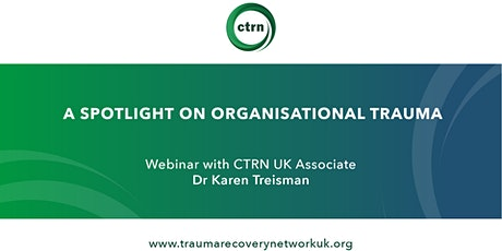 A spotlight on organisational trauma tickets