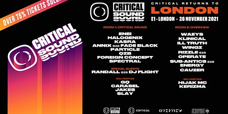 Critical Sound and Overview tickets
