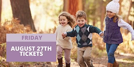JBF San Mateo Fall  2021 - Friday, August 27th tickets