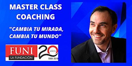 MASTER CLASS - COACHING ONTOLÓGICO PROFESIONAL entradas