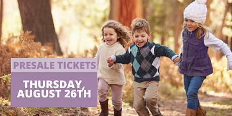 JBF San Mateo Fall 2021 - PRESALE SHOPPING  AUG 26 (Shop Early) tickets