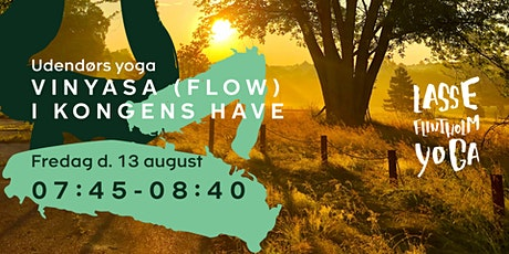 Vinyasa (flow) i Kongens Have tickets