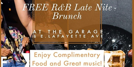 Free R& B Nite Brunch tickets