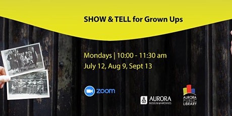 Show and Tell for Grown Ups tickets