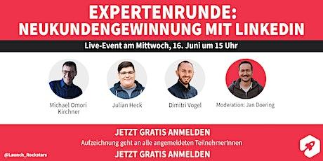 Expertenrunde: Kundengewinnung mit LinkedIn Tickets