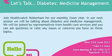 Let's Talk...Diabetes Management tickets