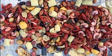 June Social Crawfish and Shrimp Boil tickets