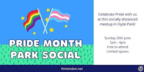 Pride Month Park Social biglietti