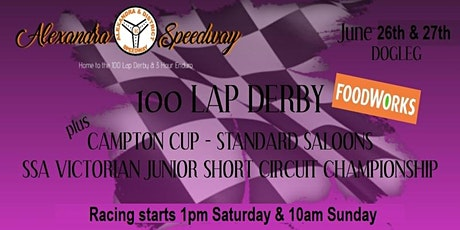 100 LAP DERBY - 2 DAY EVENT tickets