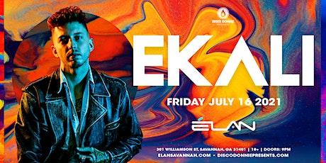 Ekali at Elan Savannah (Fri, July 16th) tickets