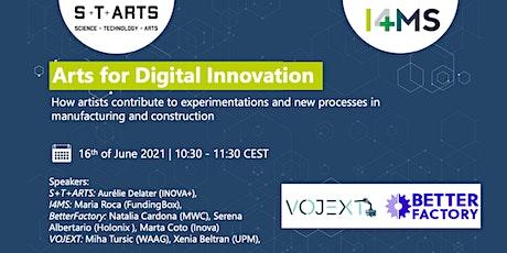 Arts for Digital Innovation tickets