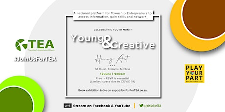 Young & Creative 19 June #JoinUsForTEA tickets