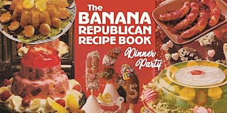 Banana Republican Recipe Book - Dinner Party tickets