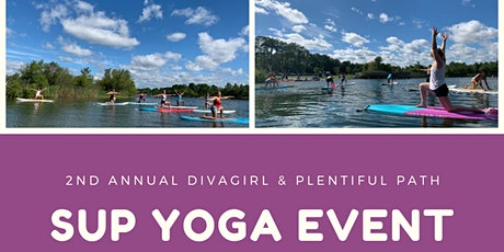 2nd Annual DivaGirl and Plentiful Path SUP Yoga Event tickets