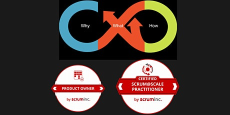 vCS@SP Certified Scrum@Scale Practitioner w/ PO Option (ENGLISH) tickets
