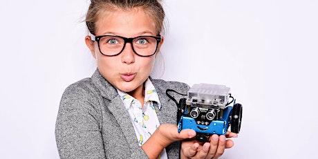 Roboter bauen und programmieren: mBot mit Makeblock Tickets
