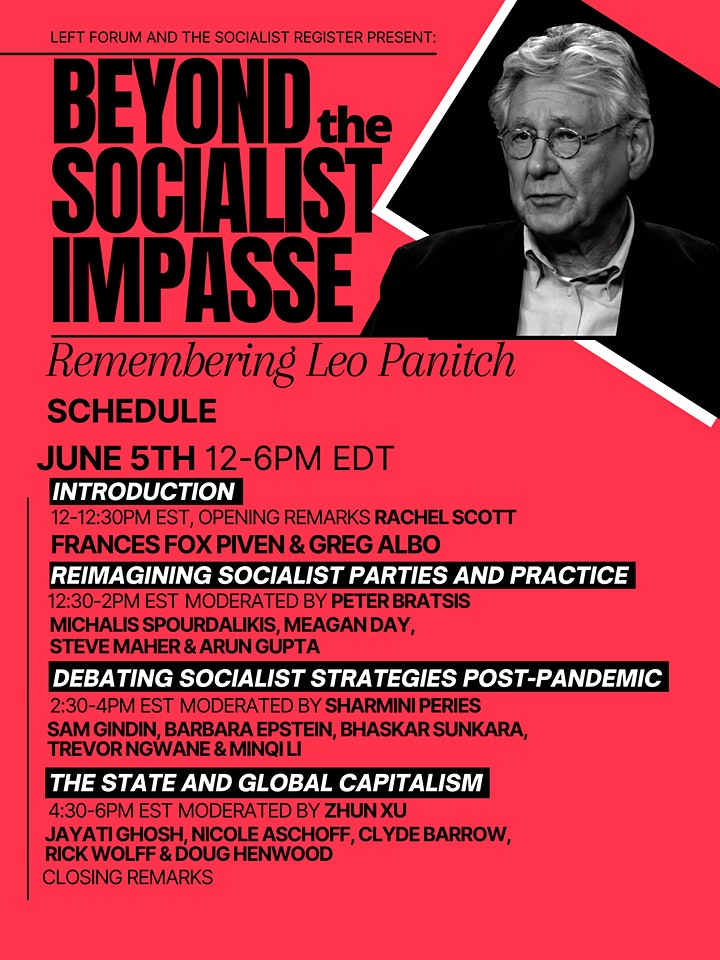 Beyond the  Socialist Impasse: Remembering Leo Panitch image