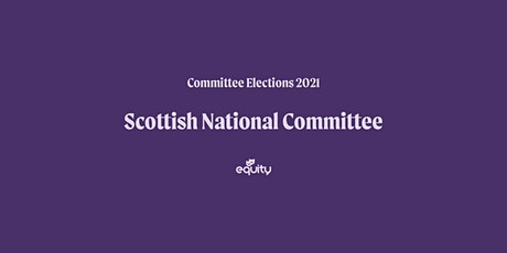 Equity Scottish National Committee Hustings tickets