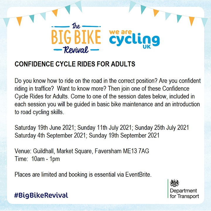 Confidence Cycle Rides For Adults image